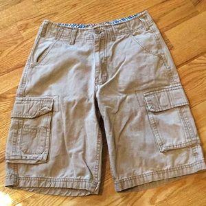 Other - Boys cargo shorts size 12 khaki